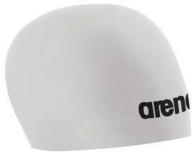 Шапочка для плавания Arena 3D Race, белая (91554-15)
