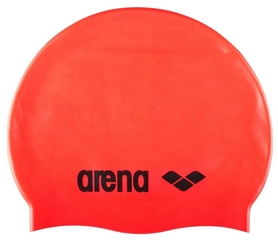 Шапочка для плавания Arena Classic Silicone, оранжевая (91662-40)