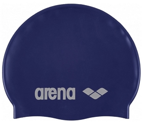 Шапочка для плавания Arena Classic Silicone, синяя (91662-71)