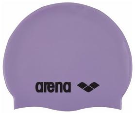 Шапочка для плавания Arena Classic Silicone, фиолетовая (91662-85)