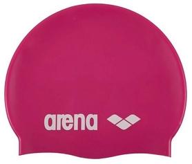 Шапочка для плавания Arena Classic Silicone, розовая (91662-91)