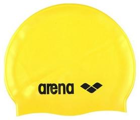 Шапочка для плавания Arena Classic Silicone Jr, желтая (91670-35)