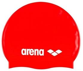 arena Шапочка для плавания Arena Classic Silicone Jr, красная (91670-44)