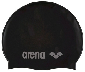 arena Шапочка для плавания Arena Classic Silicone Jr, черная (91670-55)
