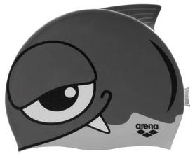 Шапочка для плавания детская Arena Awt Fish Cap, серая (91915-11)