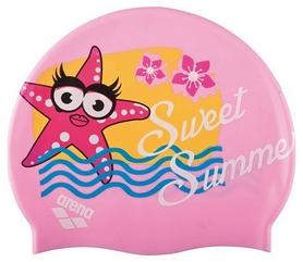Шапочка для плавания детская Arena Awt Multi, розовая (91925-24)