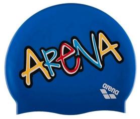 Шапочка для плавания Arena Print Jr Sparkle-Pix, желтая (94171-813)