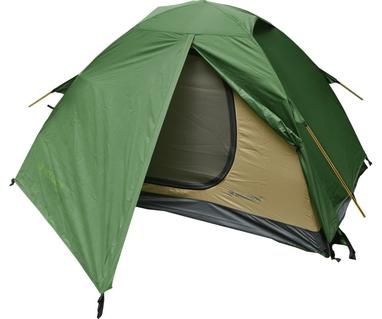 Палатка двухместная Mousson Fly 2, зеленая (4823059846995)