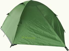 Фото 2 к товару Палатка двухместная Mousson Fly 2, зеленая (4823059846995)
