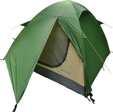Палатка трехместная Mousson Fly 3, зеленая (4823059847015)