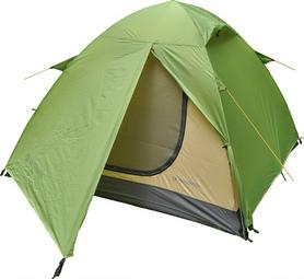 Палатка трехместная Mousson Fly 3, лайм (4823059847022)