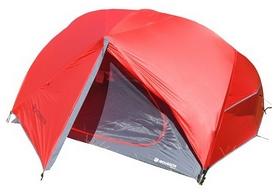 Палатка трехместная Mousson Azimut 3, красная (4823059847213)