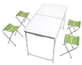 Стол раскладной Кемпинг XN-12064 + 4 стула (4823082711444)