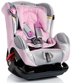 Автокресло детское Bellelli Leonardo, розовое (01LEO00043BBY)