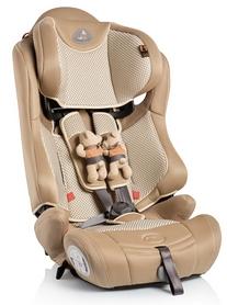 Автокресло детское Bellelli Maximo Fix, бежевое с игрушками на ремнях (01MXM046IFBBY)