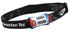 Фонарь налобный Princeton Tec Fred LED PTC625, красно-сине-белый (4823082707515)