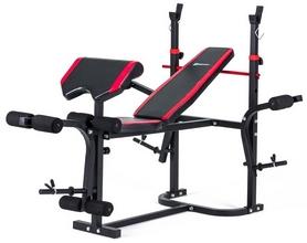 Скамья для жима Hop-Sport HS-1020 с партой + набор Premium, 99 кг