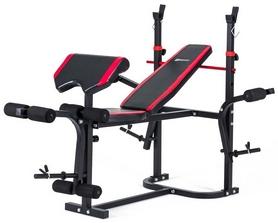 Скамья для жима Hop-Sport HS-1020 с партой и тягой + набор Premium, 78 кг