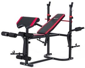 Скамья для жима Hop-Sport HS-1020 с партой и тягой + набор Premium, 99 кг