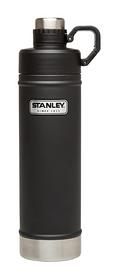 Термос стальной Stanley Classic - черный, 0,75 л (6939236337922)