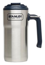 Термокружка стальная Stanley Adventure Travel - металлик, 0,47 л (6939236331050)