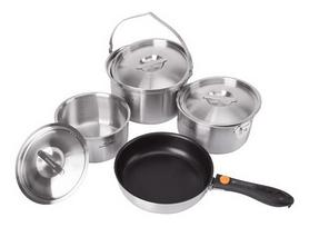 Набор посуды туристический Kovea All-3PLY Stainles Cookware KKW-CW1105 (8806372095796)