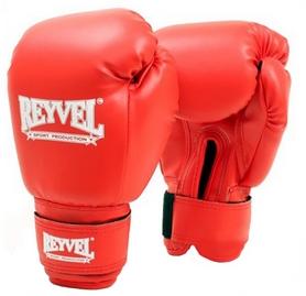 Перчатки боксерские виниловые Reyvel - красные (BPRY001-RD)