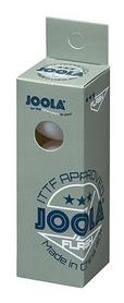 Набор мячей для настольного тенниса Joola Flash 3* - белые, 3 шт (40042J)