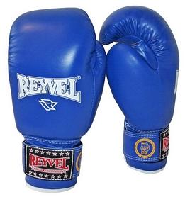 Перчатки боксерские Reyvel FBU - синие (BPRY003-BL)