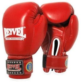 Перчатки боксерские Reyvel FBU - красные (BPRY003-RD)