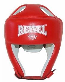 Шлем боксерский Reyvel FBU - красный (SHRY004-RD)