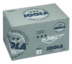Набор мячей для настольного тенниса Joola Flash 3* - белые, 72 шт (40040J)