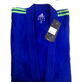 Кимоно для дзюдо Adidas Judo Uniform Club синее
