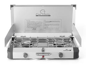 Плита газовая двухконфорочная Kovea Grace Twin Stove (AL II Chef Master) KB-0812 (8806372095437)