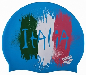 Шапочка для плавания Arena PRINT 2 Flag_Italy (1E368-32)