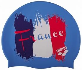 Шапочка для плавания Arena PRINT 2 flag_france (1E368-38)