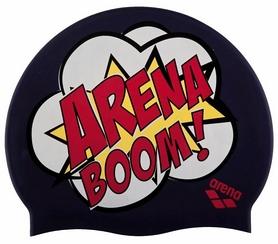Шапочка для плавания Arena PRINT 2 arenaboom_blue (1E368-48)