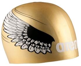 Шапочка для плавания Arena POOLISH MOULDED gold_wings (1E774-30)