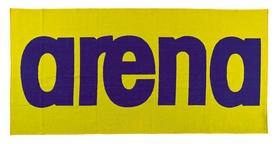 Полотенце Arena Logo Towel, желтое (51281-38)