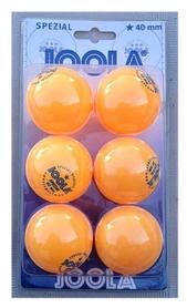 Мячи для настольного тенниса Joola Special * - оранжевые, 6 шт (44160J)