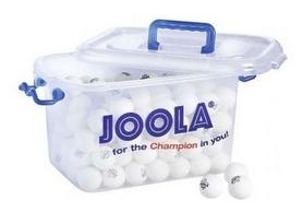 Мячи для настольного тенниса Joola Magic - белые, 144 шт (44211J)