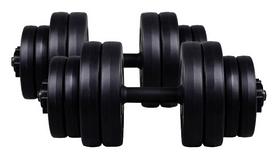 Гантели наборные композитные Plenergy, 2 шт по 15 кг (GPPL15)