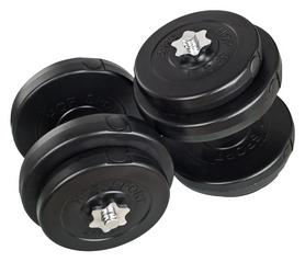 Гантели наборные композитные Plenergy, 2 шт по 28 кг (GPPL28)