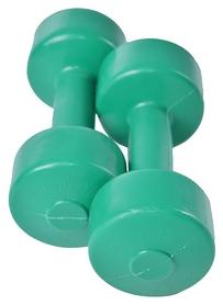 Гантели виниловые Plenergy Titan, 2 шт по 2 кг (GLTI001-GR2)