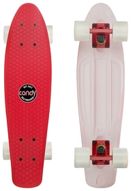 Пенни борд Candy 401M Top Red/Bottom White (401M-RW)