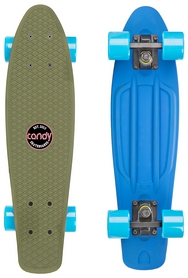Пенни борд Candy 401M Top Haki/Bottom Blue (401M-BB)