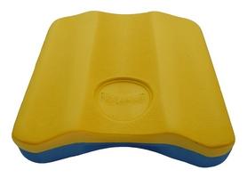 Доска для плавания Volna Pull Kick-2, желто-голубая (9152-00)