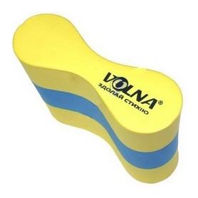 Колобашка для плавания Volna Pullboy-3, желто-голубая (9153-00)
