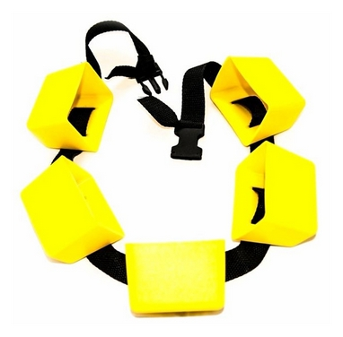 Пояс для плавания Volna Damping 5C, желтый (9320-00)