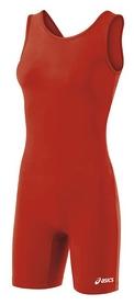 Трико борцовское женское Asics Women Solid Modified Singlet, красное (JT857-0023red)